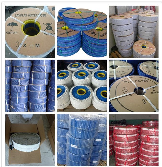 pvc lay flat hose package