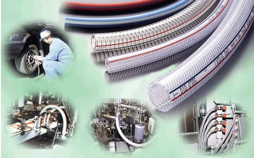 application of pvc fibre hose